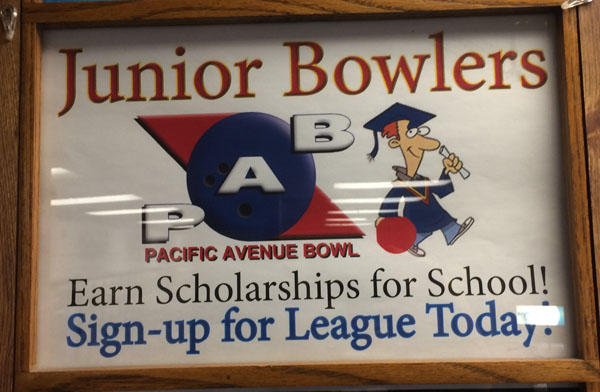 Pacific Youth Bowling