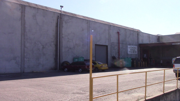 Exterior of CQB City: The facility gives no indication of what it houses.