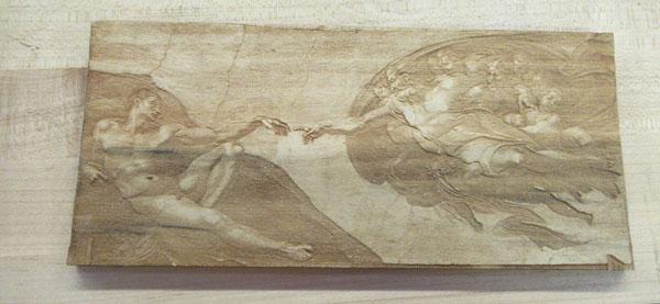Michelangelo's fine touch