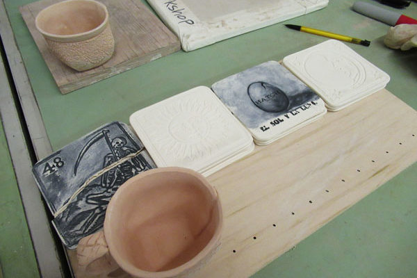 Ceramic Coasters made by Hatch