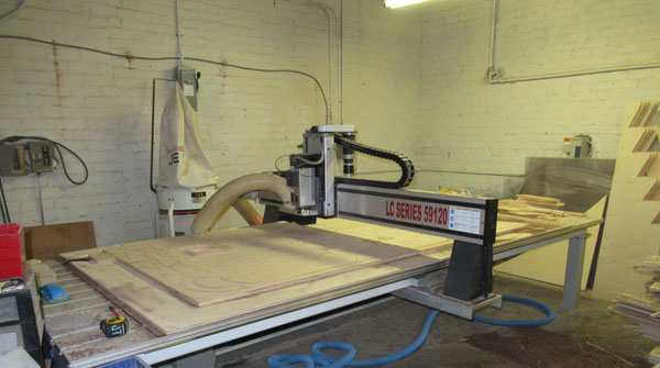 Digital Fabrication machine at Hatch