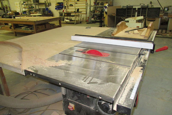 Table Saw at Hatch - alias: Saw Bench